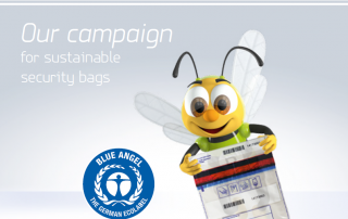 Our campaign for sustainable security bags