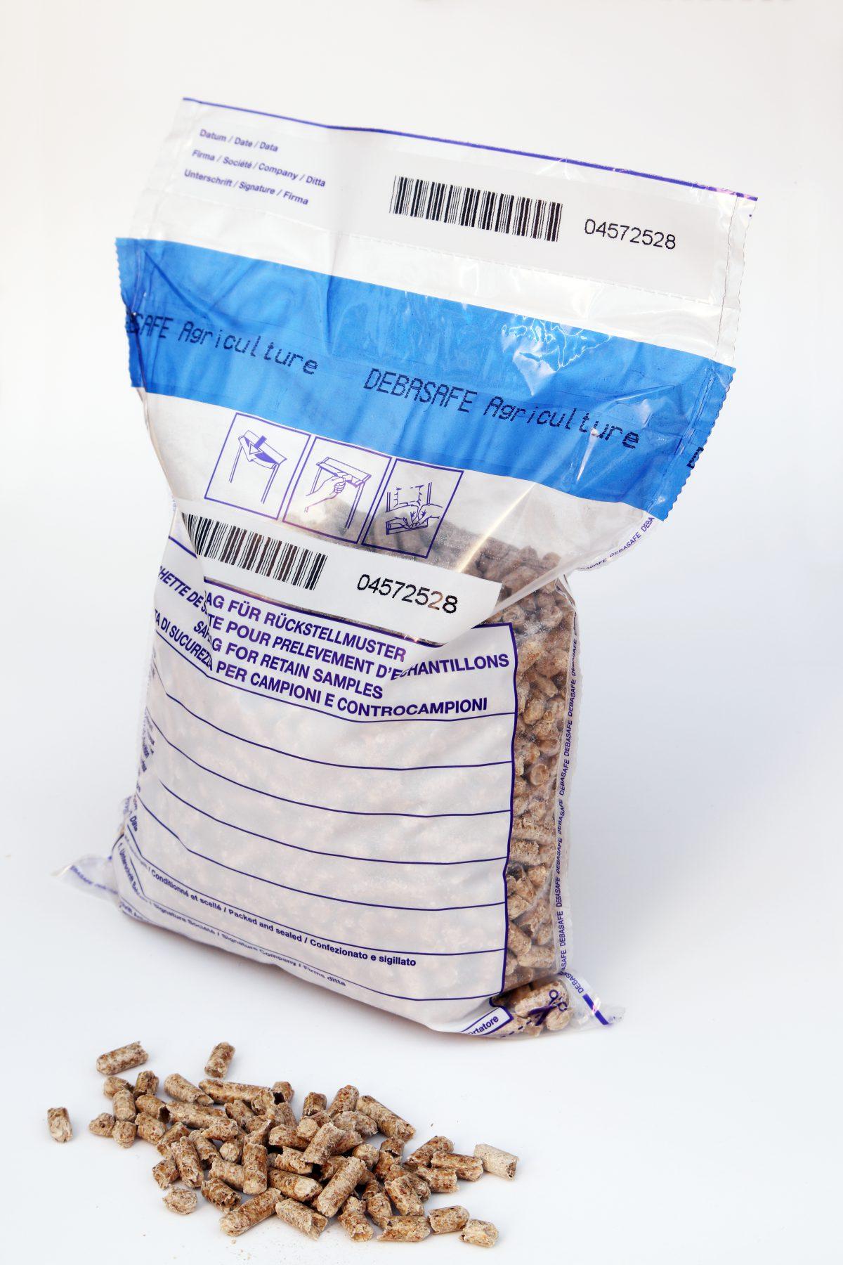 DEBASAFE wood pellet reference samples