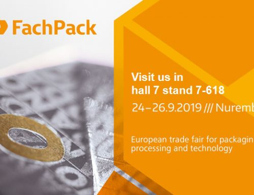 Visit us at FachPack 2019 in Nuremberg