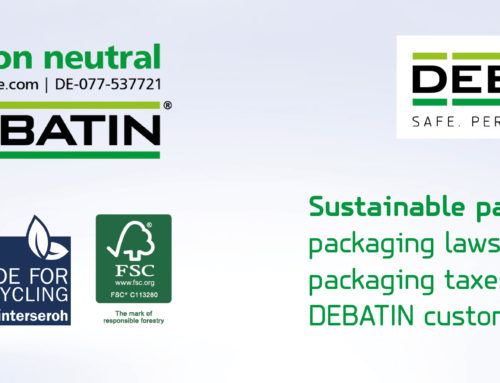 Sustainable products by DEBATIN: Tested, certified and recyclable
