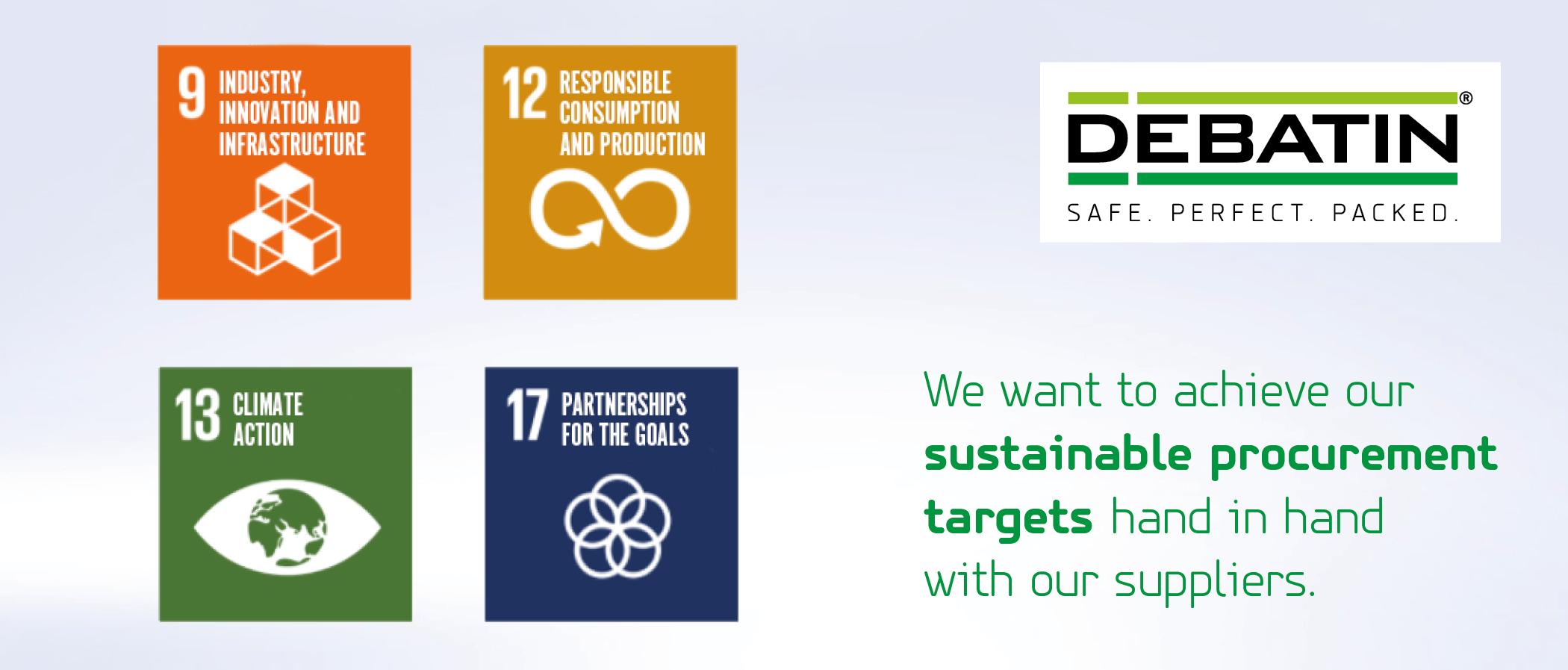 The DEBATIN sustainability strategy