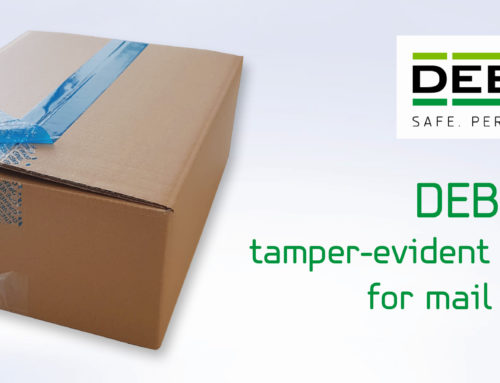 DEBASEAL security tape – protect your mail deliveries with tamper-evident packaging tape