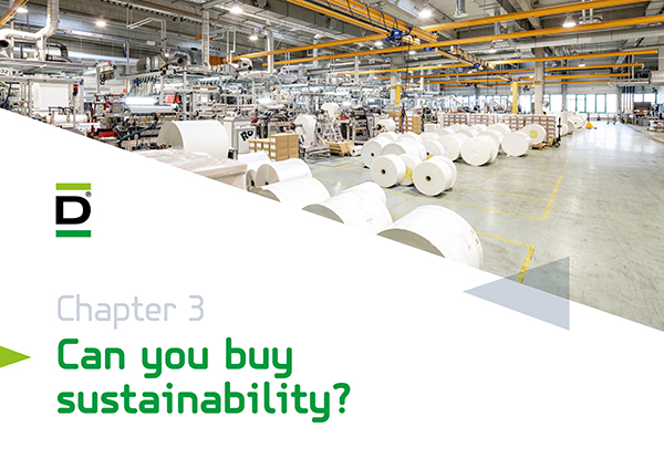 chapter three of the DEBATIN sustainability report