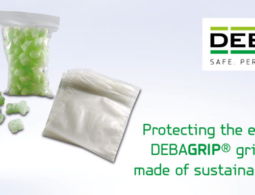 DEBAGRIP® grip-seal bags made of PCR film are sustainable, environmentally friendly and climate neutral
