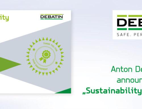 Henkel is DEBATIN's first Sustainability Champion